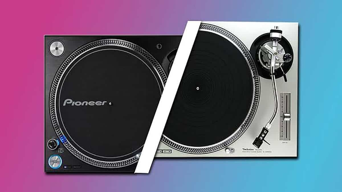 Pioneer PLX 1000 VS Technics SL 1210