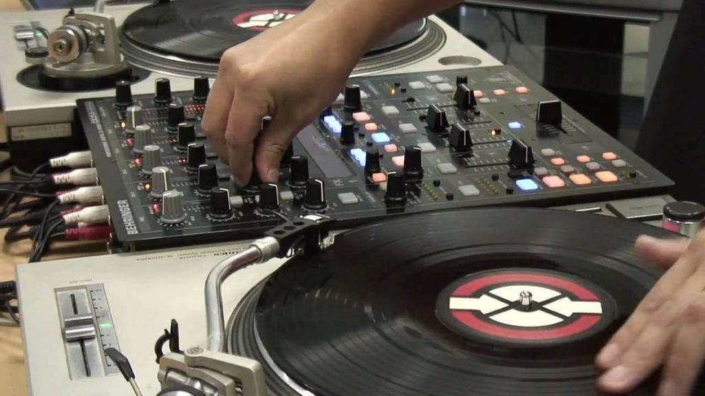 DJ mixer Channel Fader