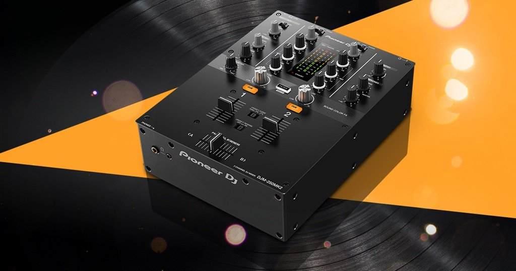 Pioneer DJ DJM-250 MK2 Mixer