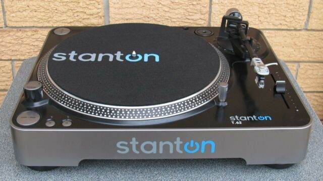 Stanton T.62 Direct Drive Straight Arm Turntable